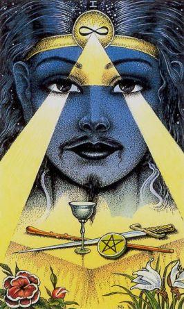 The Magician - Cosmic Tarot