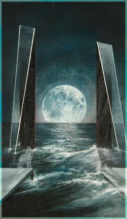 The Moon - Fountain Tarot