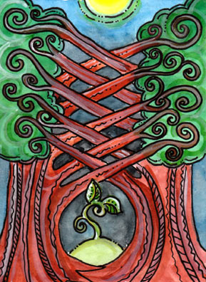 Tarot of the Trees